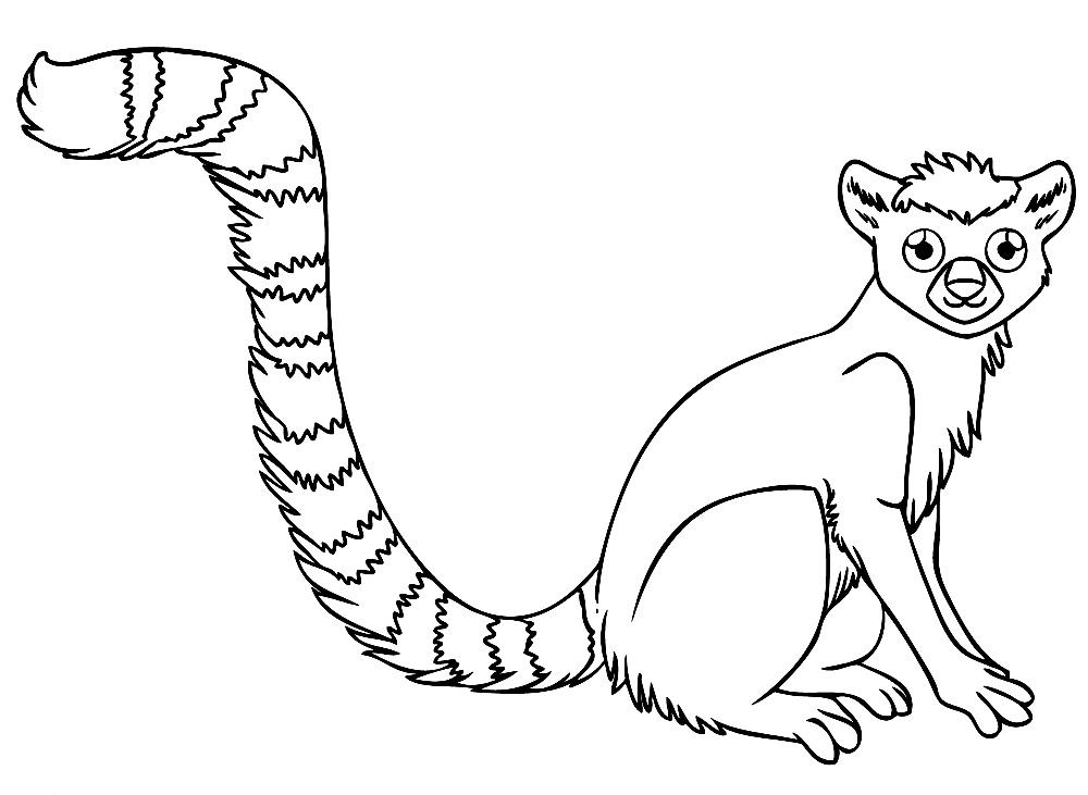 Черно-белые картинки животные для раскрашивания