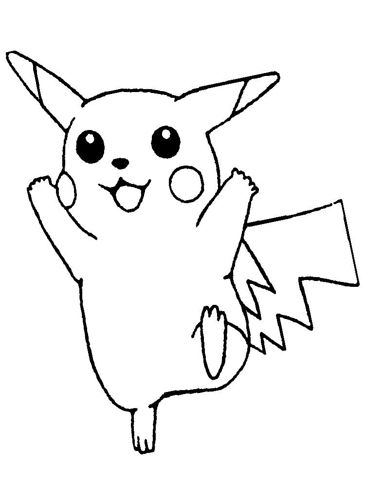 Качайте и распечатывайте раскраски Покемоны на принтере